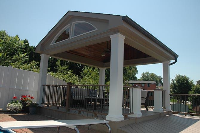 Deck Roof Project #25 - Wow Decks
